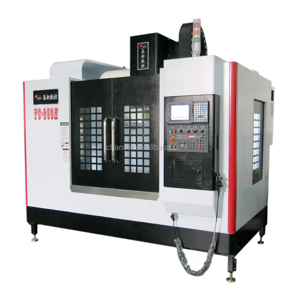 VMC850 CNC Vertical Milling Machine CNC Machining Center for High Precision Mold Processing