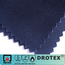 cotton/polyester fire retardant fabric for workwear