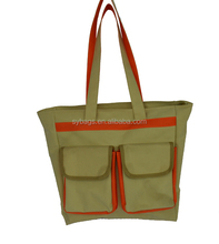 shopping bag with two pockets for wo / Carry bags / Various Styles Durable Waterproof Foldable Shopping Bag
