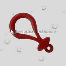 Popular Plastic Key Chain Hook / Plastic Snap Hook for Toy