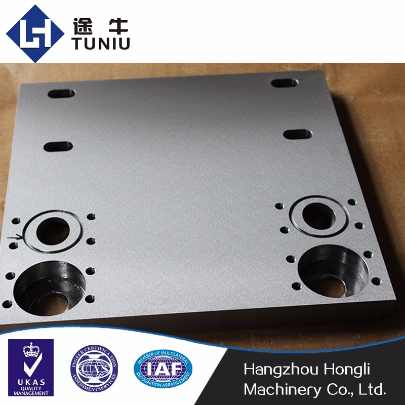 custom precision milling cnc metal processing for elevator tooling equipment parts