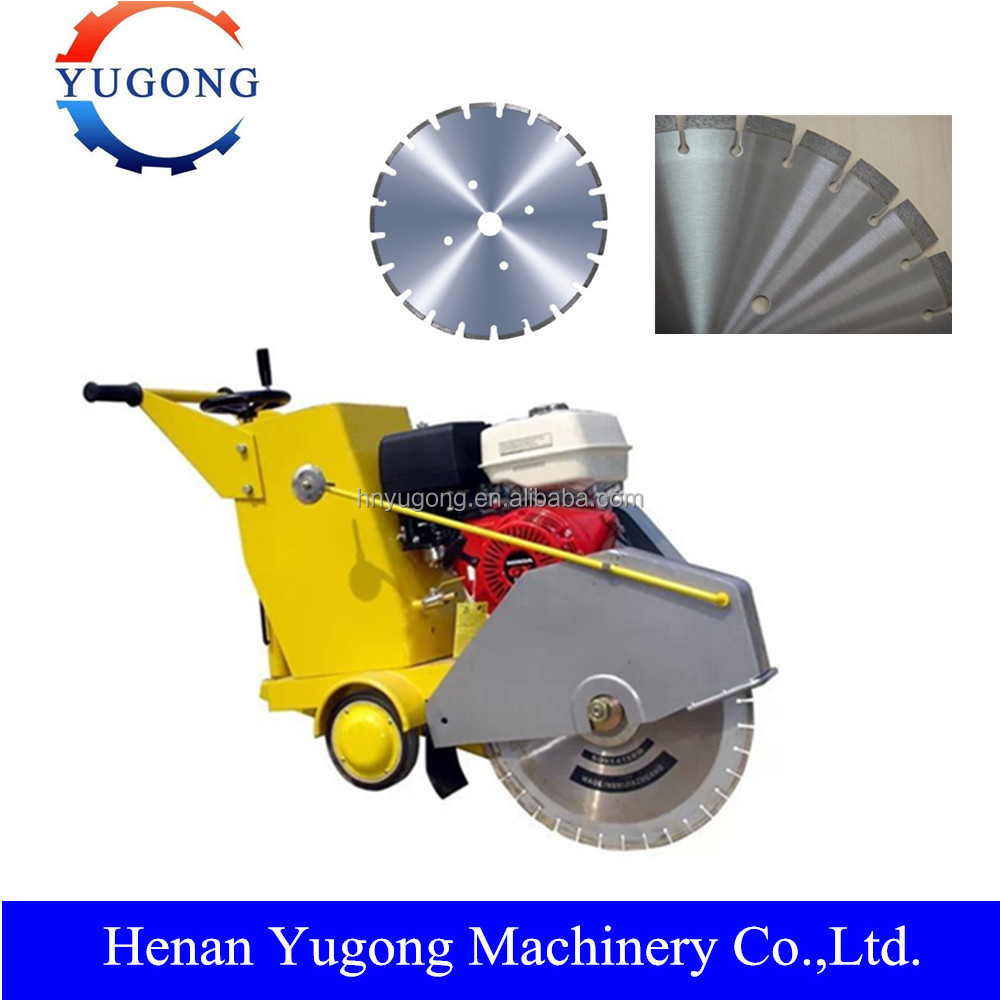 Hot sale Road Machine Concrete Groove Cutter with Honda GX-390