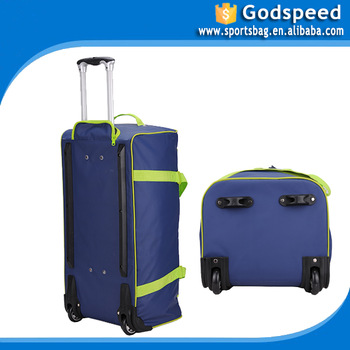 princess travel world colourful travel trolley luggage bag
