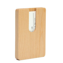 New design wooden name card holder business card holder