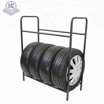 commercial use heavy dury truck tire display shelf