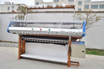 Semi-Automatic Flat Knitting Machine With Cover