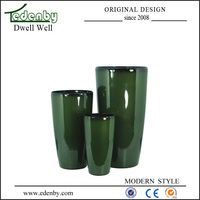 Chinese large floor vases for garden decoration