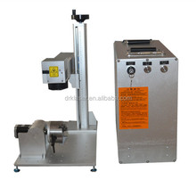 Portable 10w 20w 30w 50w fiber metal laser marking machinery price for both metal and nonmetal material