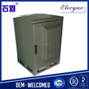 Outdoor enclosure with battery rack/galvanized metal enclosure SK-216 with air conditioner