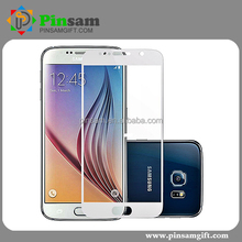 Good Quality anti shock blue film screen protector 9H tempered glass screen protector for samsung galaxy s4 s5 s6