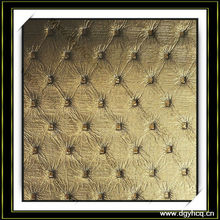 full grain pu leather for sofa wall decoration
