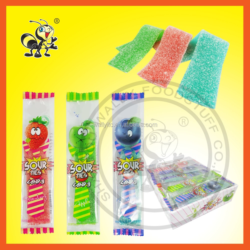 Licorice Sour Candy/Soft Candy/Sour Belt Candy