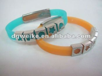 Newest Silicone Adjustable Bracelet
