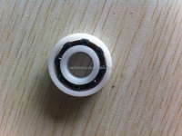 China 6001 Plastic bearing with ceramic ball