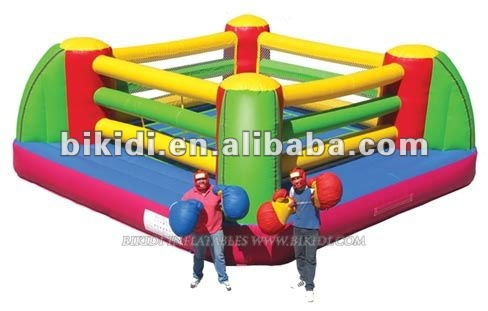 inflatable boxing arena,arena sport game