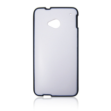 black and white soft case for HTC one M7,soft case