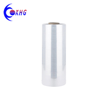 OEM customized soft transparent PE shrink stretch film on roll