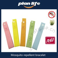 Fashion Style Deet free Safe Mosquito Wristband Repellent Bracelet