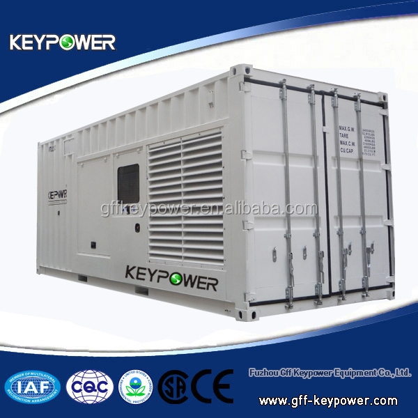 Powered by Mitsubishi, container genset, 50/60hz 655kva, silent open type, best quality, good price, ce iso certified, for sale