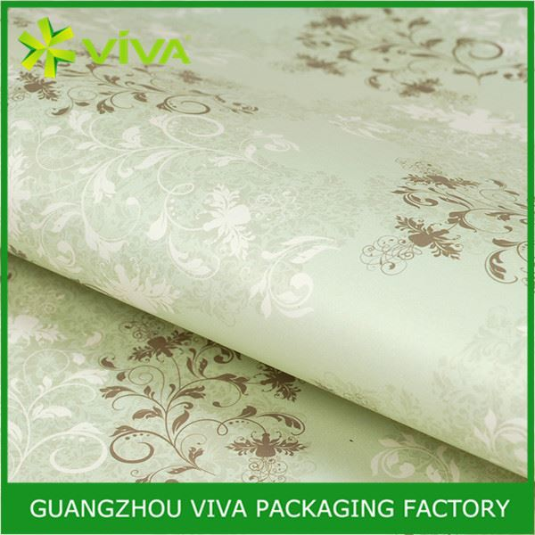 Top Grade Glossy Lamination Printing tissue paper for wrapping shirts