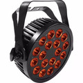 Stage Lighting 18PCS 18W Waterproof Slim Led Par Light Can 6IN I RGBWA+UV Led Flat Par