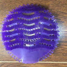 EVA urinal screen 2.0 wave purple color urinal deodorizer screen mat