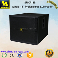 "SRX718S Single 18"" 1600 Watts Active Subwoofer Speaker Box"