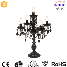 new products 2016 Wholesale best selling chandelier table lamp for hotel