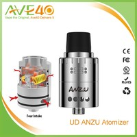2016 new UD ANZU rda atomizer tank with velocity post big delrin drip tip cool rda