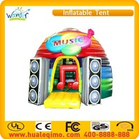 New customize beatiful top popular pvc inflatable music for sale