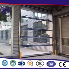 Manufacture High Quality polycarbonate transparent electric roller shutter door