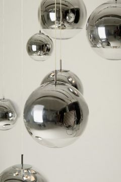 hanging stainless steel decorative balls