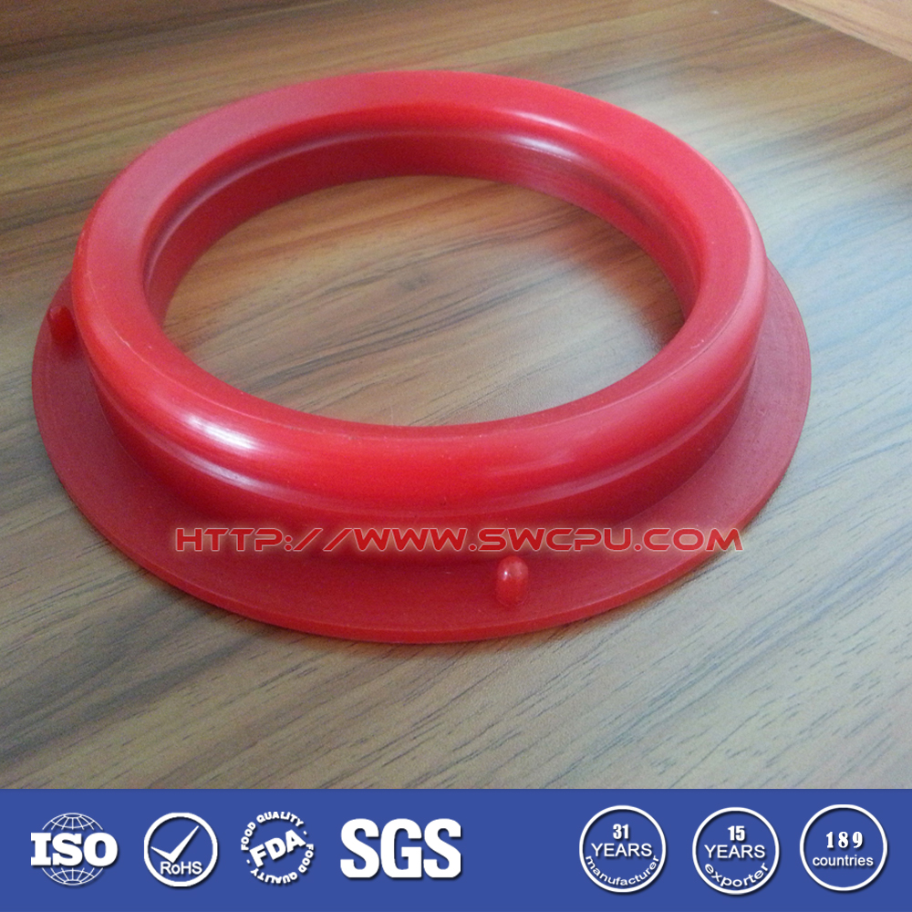 Red Plastic Sealing Ring