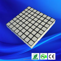 60*60mm 6mm pixels RGB dot matrix square 8x8 rgb led matrix display module
