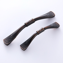 High quality textured zinc alloy cabinet handle