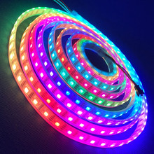 Color changing 1M 60 Pixels WS2812B Programmable Individual Addressable 5050smd 14.4 w rgbw led strip white