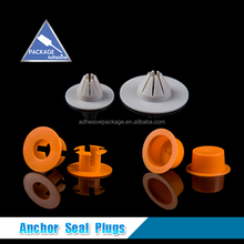 Plastic Wall Plug Anchor Seal For Crack Sealing