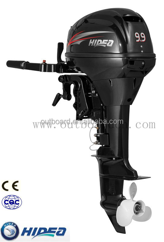 CE Approved Chinese 9.9hp Gasoline Fishing Boat Engine