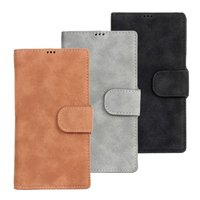 Tan Suede Portfolio Stand Wallet Leather Case for Sony Xperia z1 honami