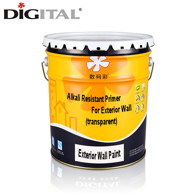 Transparent Alkali resistant wall paint primer