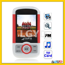 1.8 inch TFT screen 2GB MP4 Player with Speaker, BL-4C Removable Battery, Support FM Radio, E-Book, Games