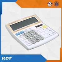12 digits calculator dual power handheld calculator whit 99 steps calculator
