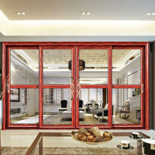 Luxury hurricane impact big glass aluminium door manufacture price home sliding door with grills and handle