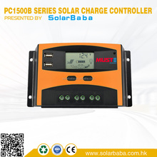 12V 24V 48V 5A 10A 15A 20A 30A Solar Charger Controller Manual PWM Solar Charge Controller