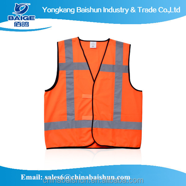high safety visibility 100 vest cotton