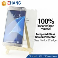 2016 Wholesale ! Ultra clear 0.33mm 9H screen protector for s7 tempered glass