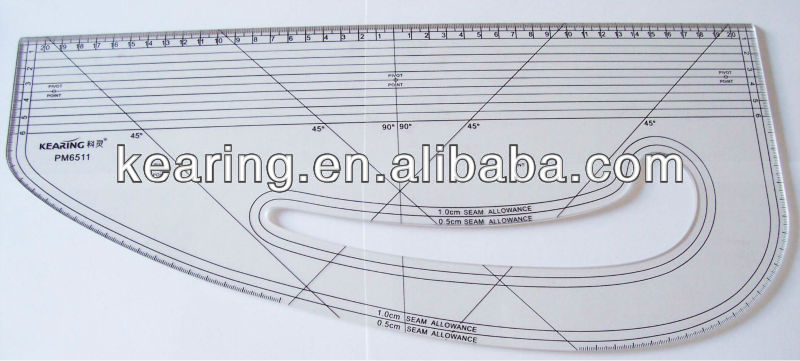 40CM METRIC PATTERNMASTER FOR SEWING,#PM6511