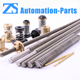 spindles with trapezoidal acme lead screw thread rod 8mm diameter for 3d printer