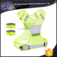 cheap safety reflective vest for Runners, Walkers and Worker