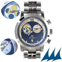 Fasnet MBL - Blue and white dial / Stainless steel strap